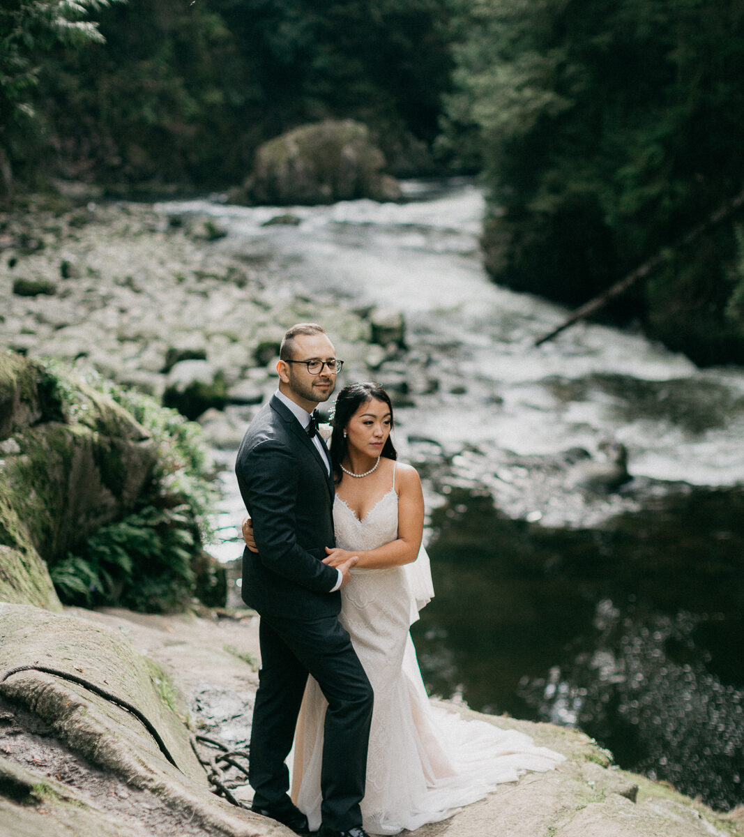 cleveland dam wedding